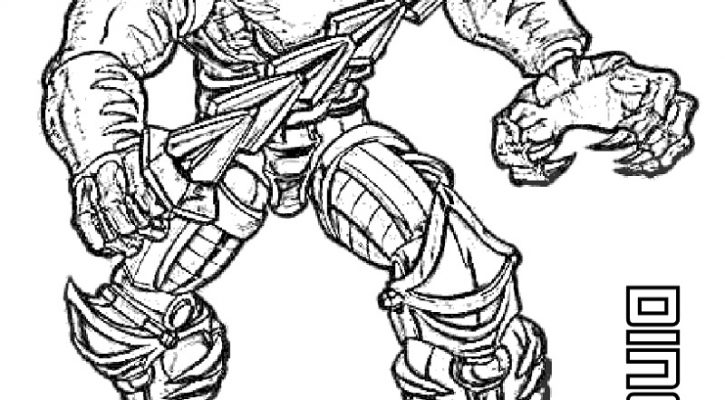 Transformers Coloring Pages Dinobot