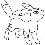 Umbreon Coloring Pages For Kids