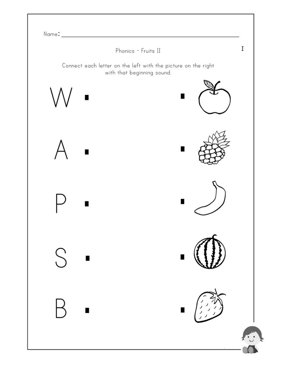 Worksheet Printables Beginning Sounds