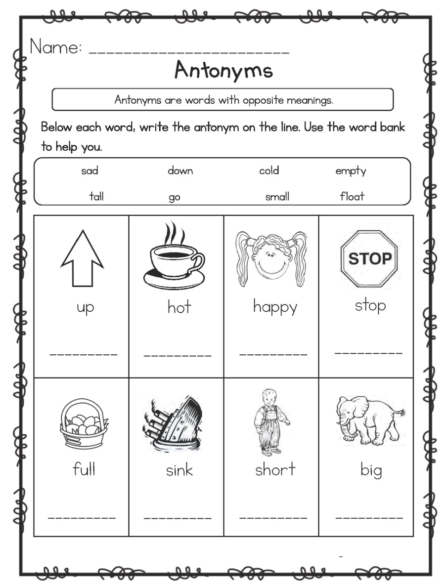 Worksheet Printables Language