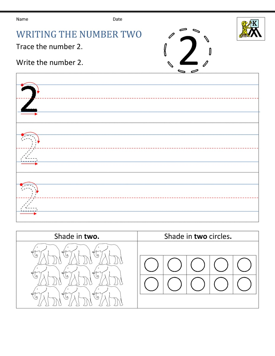 Worksheet Printables Numbers