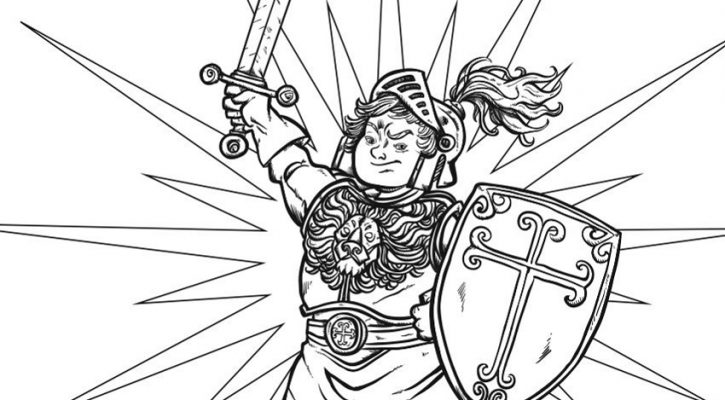 Armor Of God Coloring Pages Free