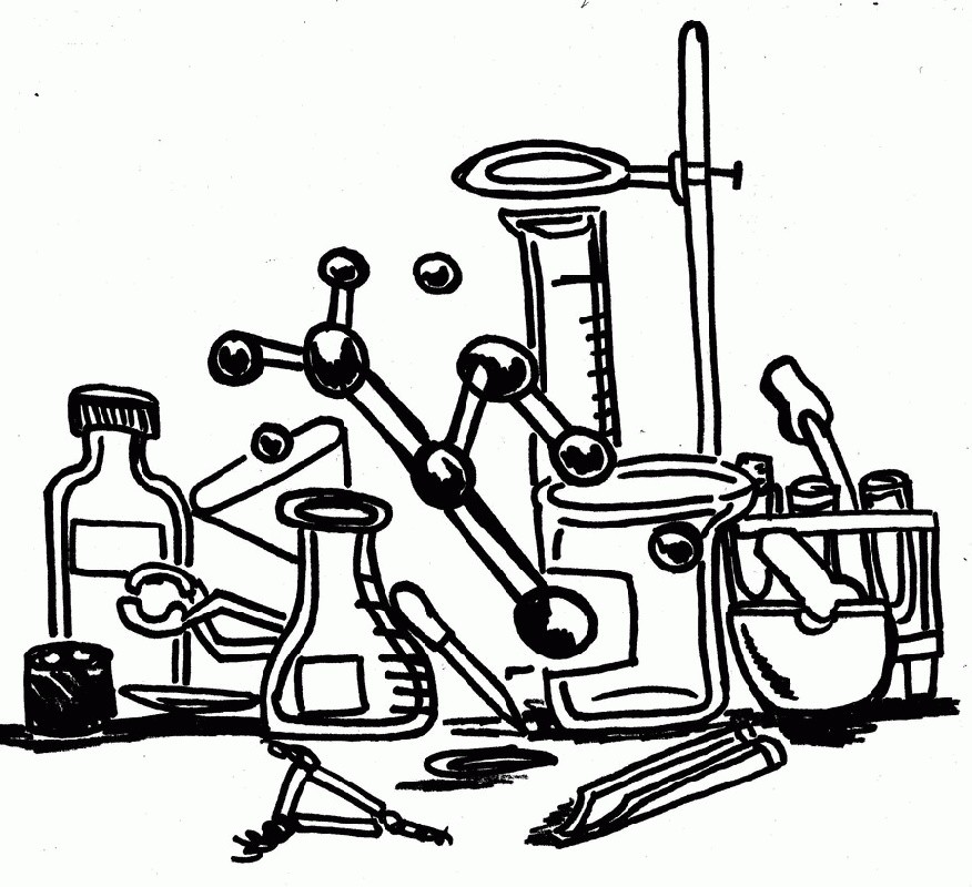 Chemistry Coloring Pages To Print
