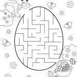 Children's Activity Sheets Free Maze