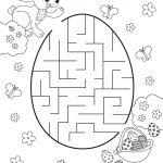 Children's Activity Sheets Free Maze