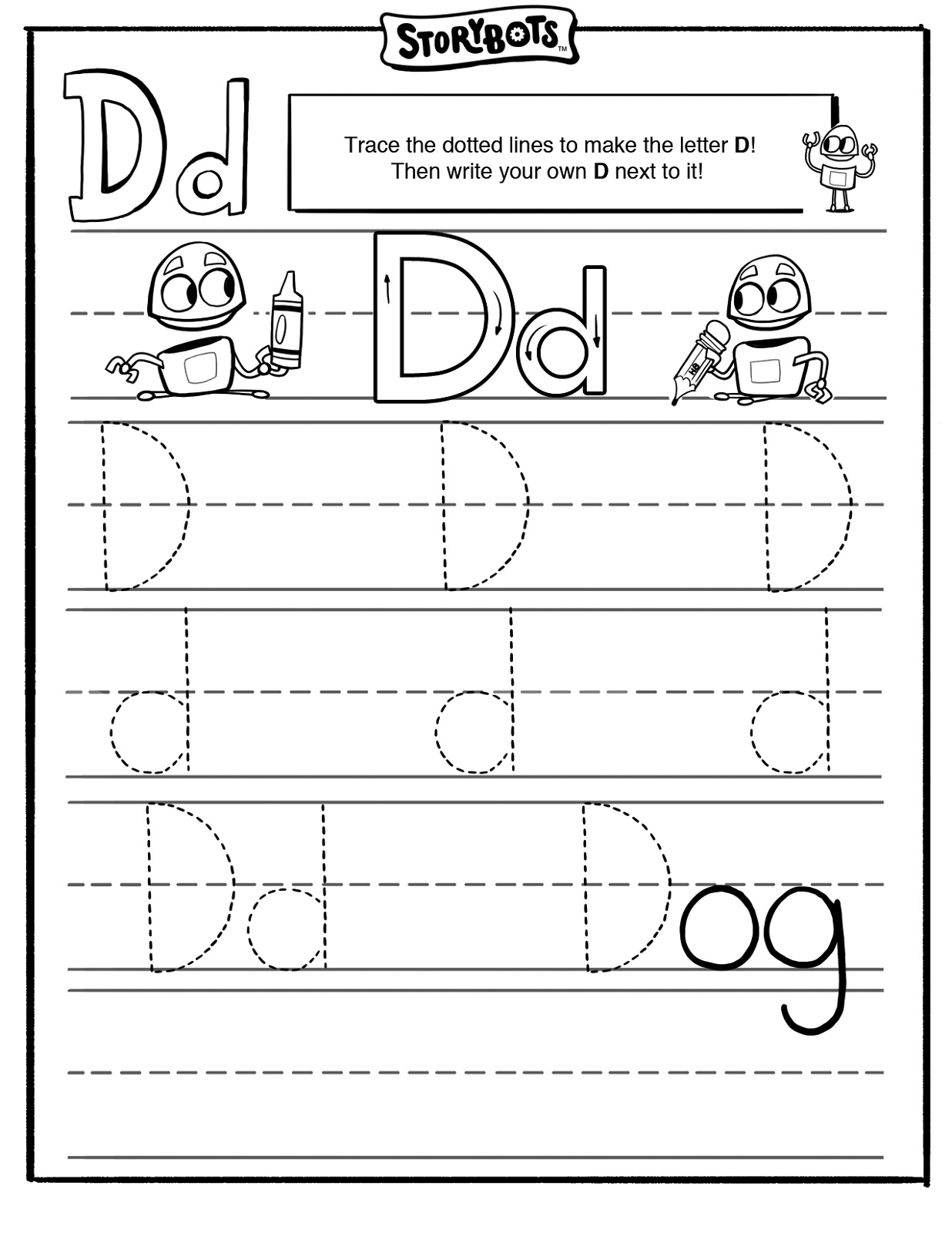Easy Worksheets For Kindergarten Letter