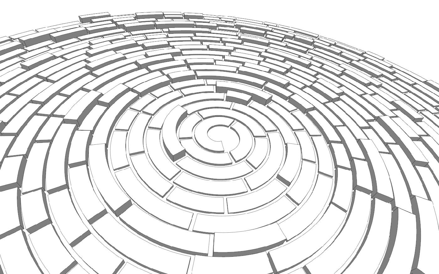3d Coloring Maze
