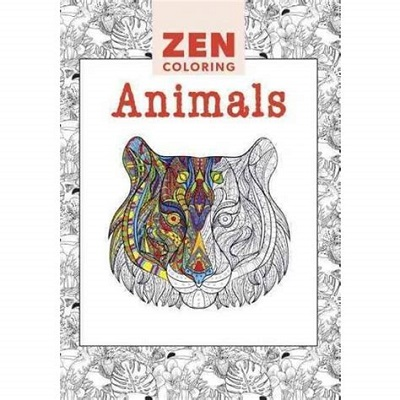 Adult Coloring Books Target Animal