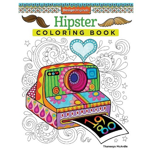 Adult Coloring Books Target Hipster