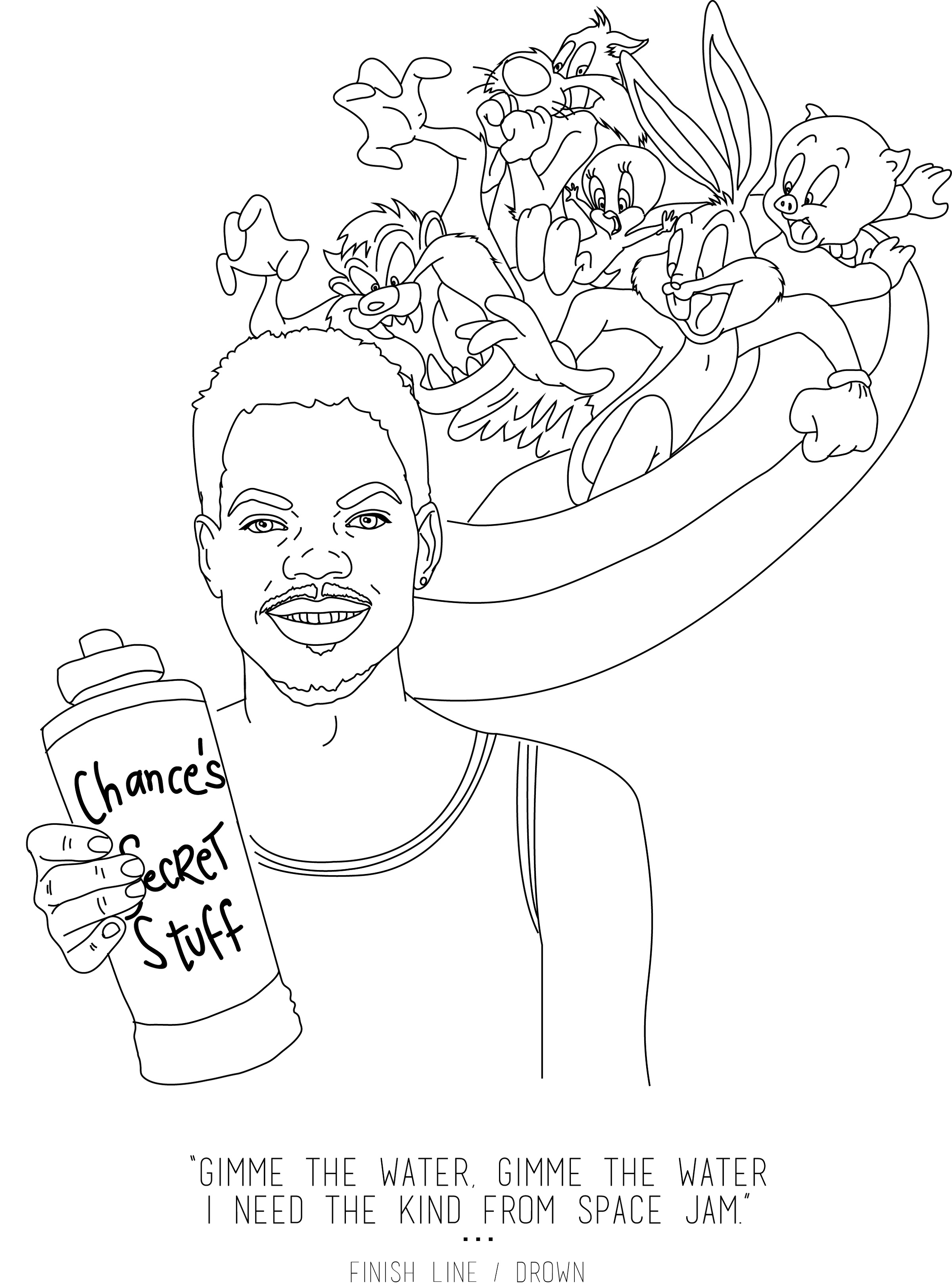 Coloring Book Chance Printable