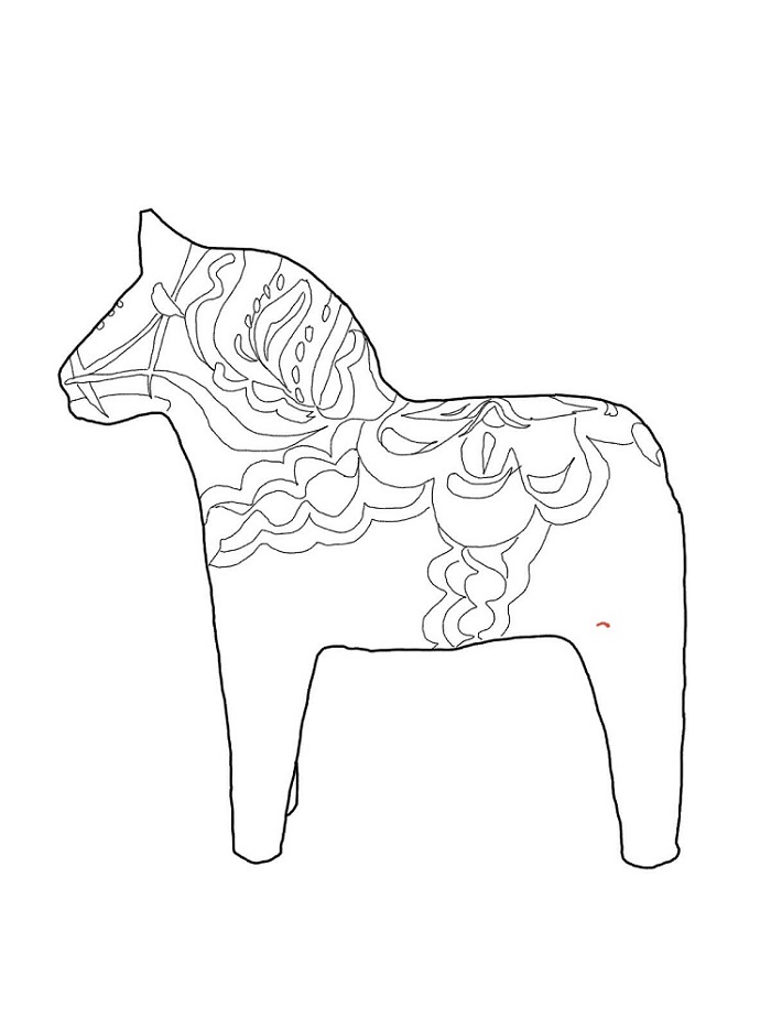 Coloring Pages Online Horse