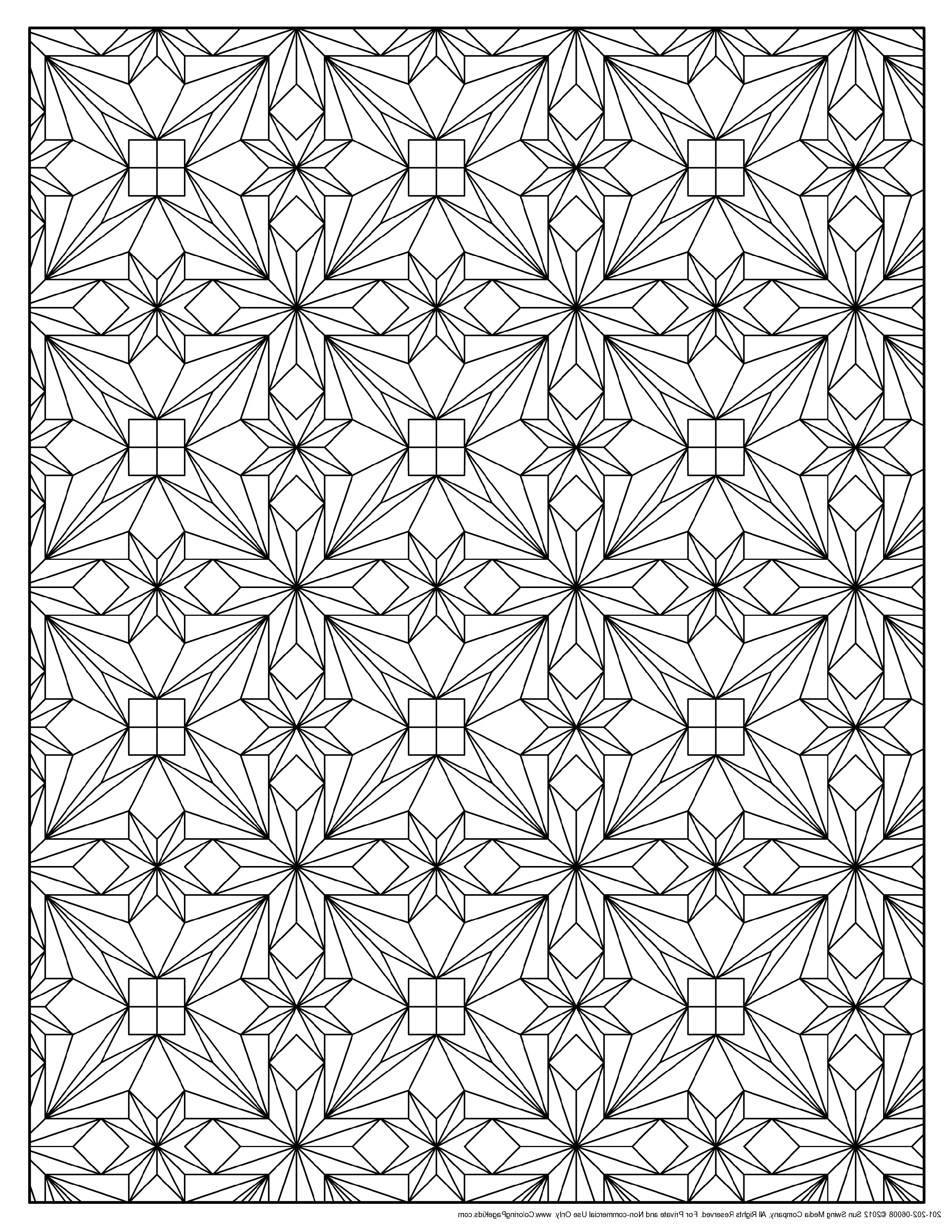 Coloring Pages Online Pattern