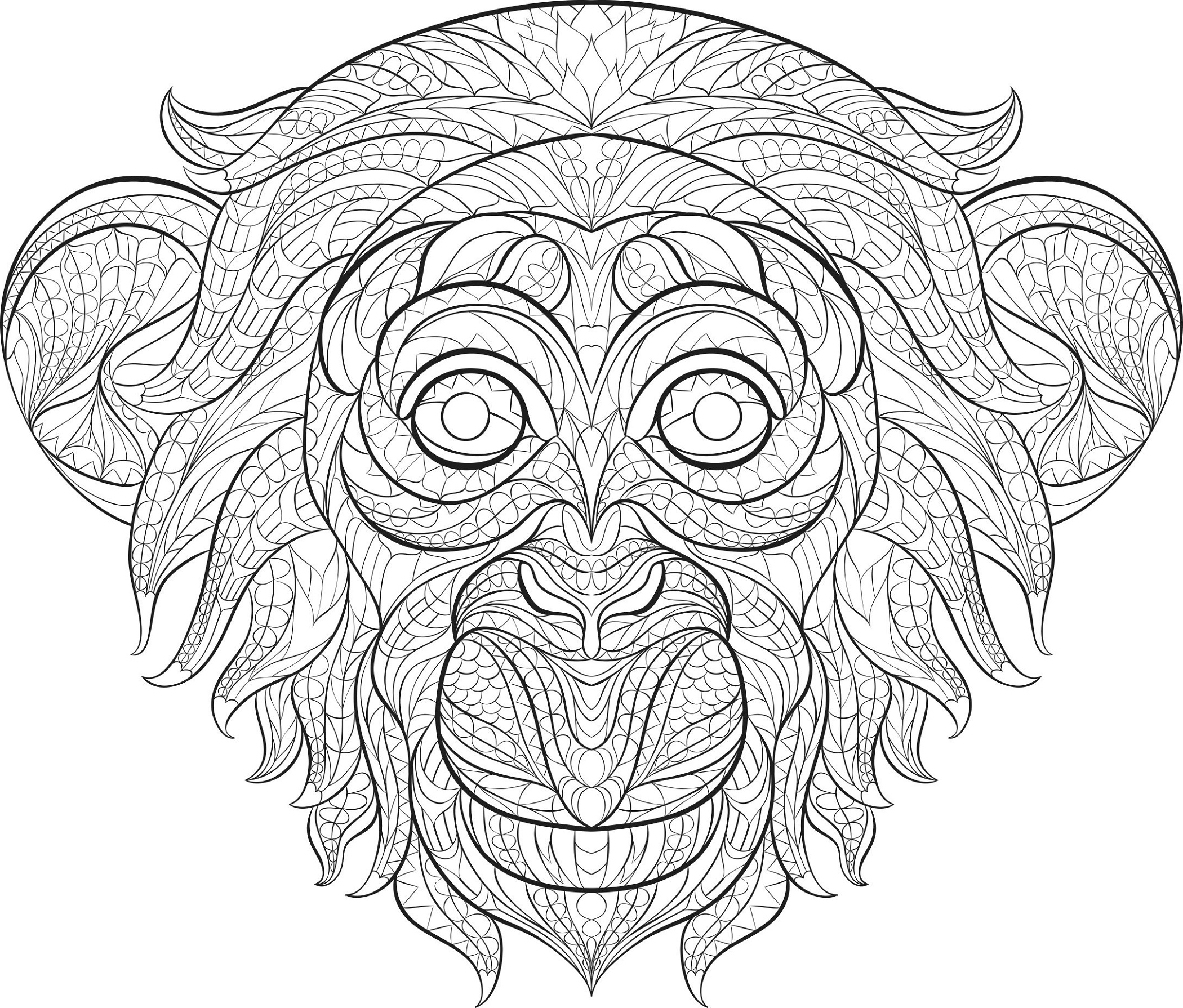 Cool Coloring Pictures Animal