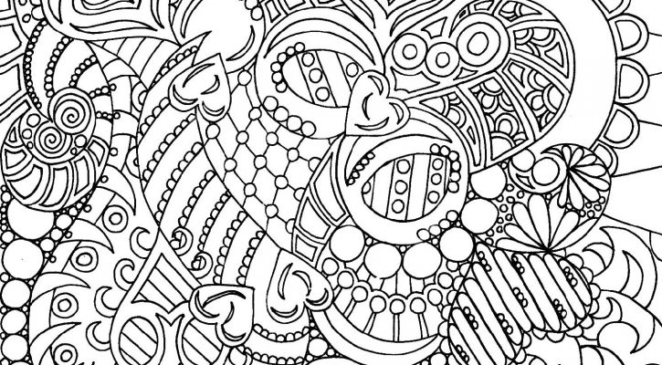 Cool Coloring Pictures For Adults
