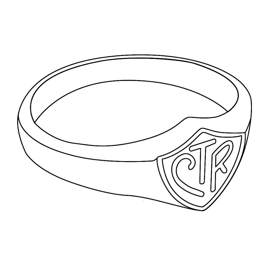 Ctr Shield Coloring Page To Print