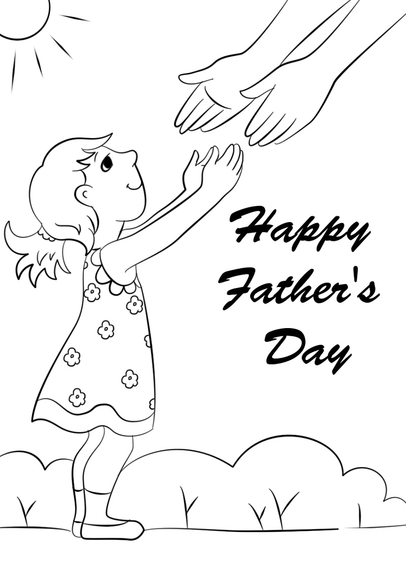 Fathers Day Coloring Pages Daughter