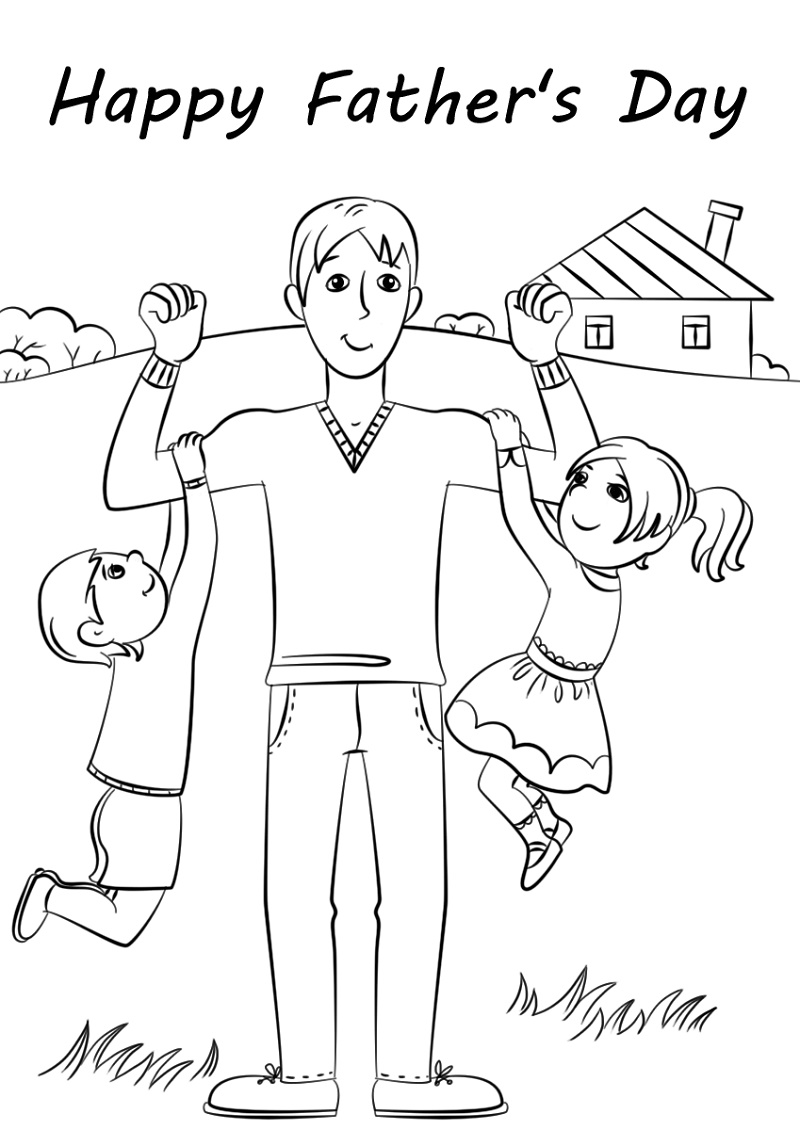 Fathers-Day-Coloring-Pages-Pictures