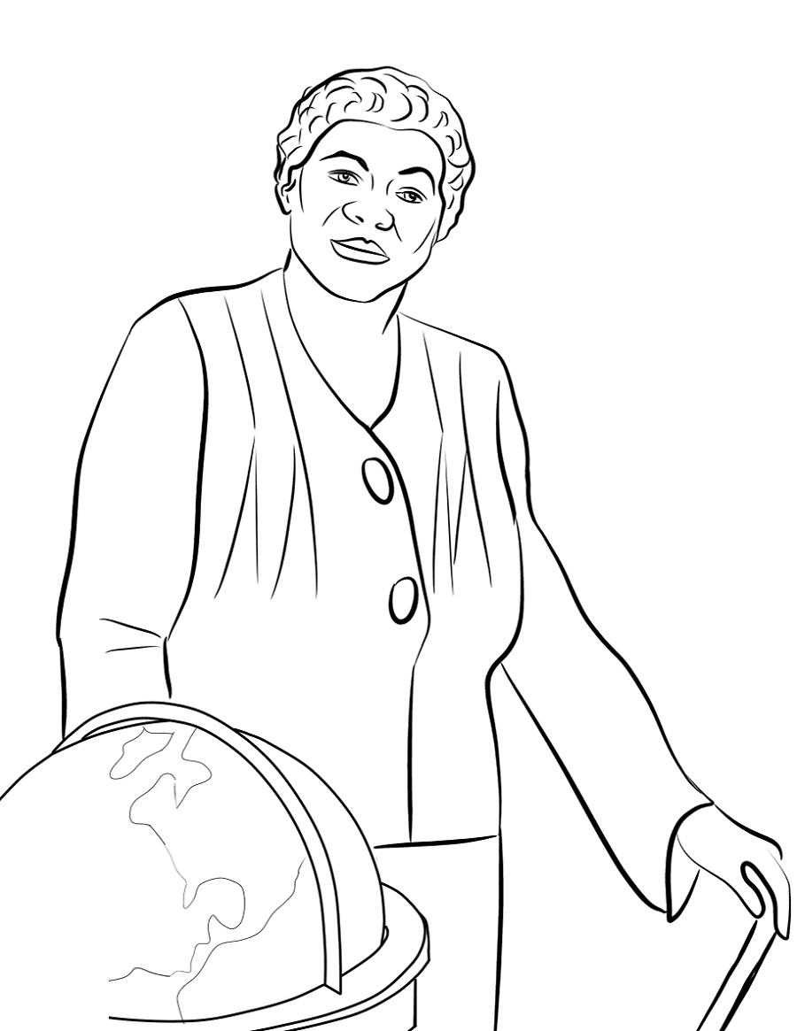 Latest Black History Coloring Pages Pdf