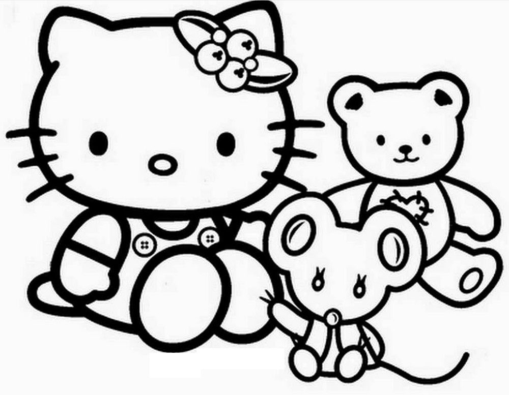Baby Coloring Games Hello Kitty