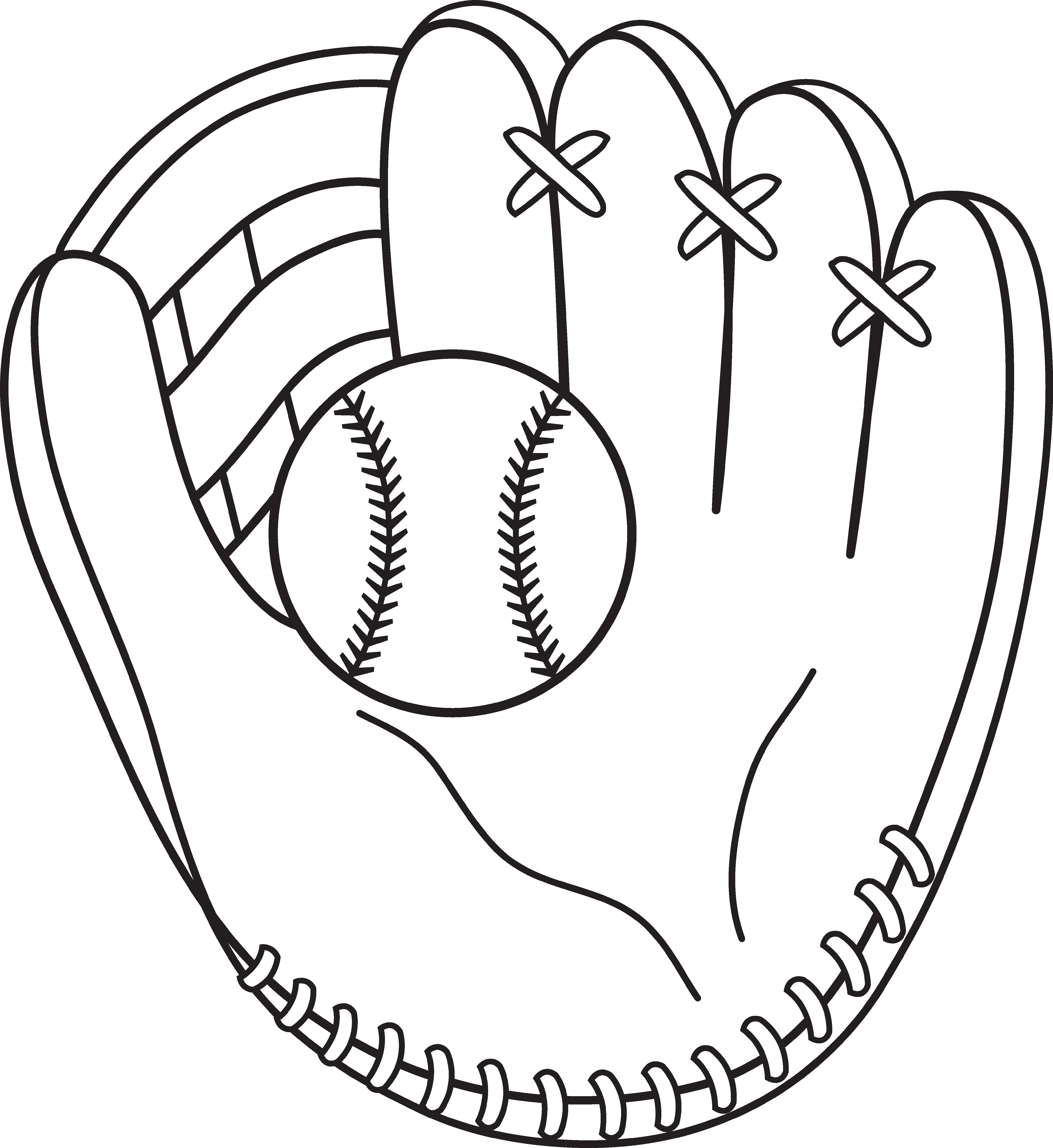 Baseball Coloring Pages Printable