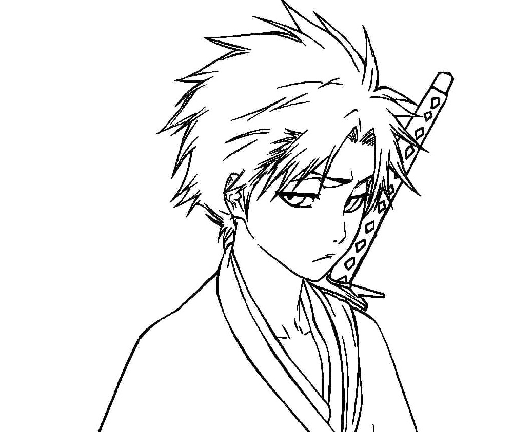 Bleach Coloring Pages Free