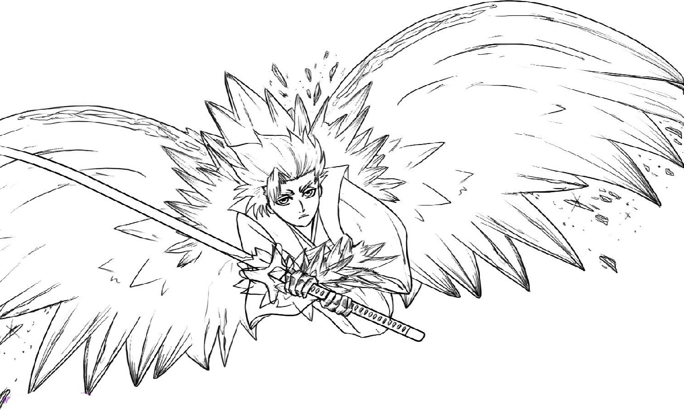Bleach Coloring Pages To Print