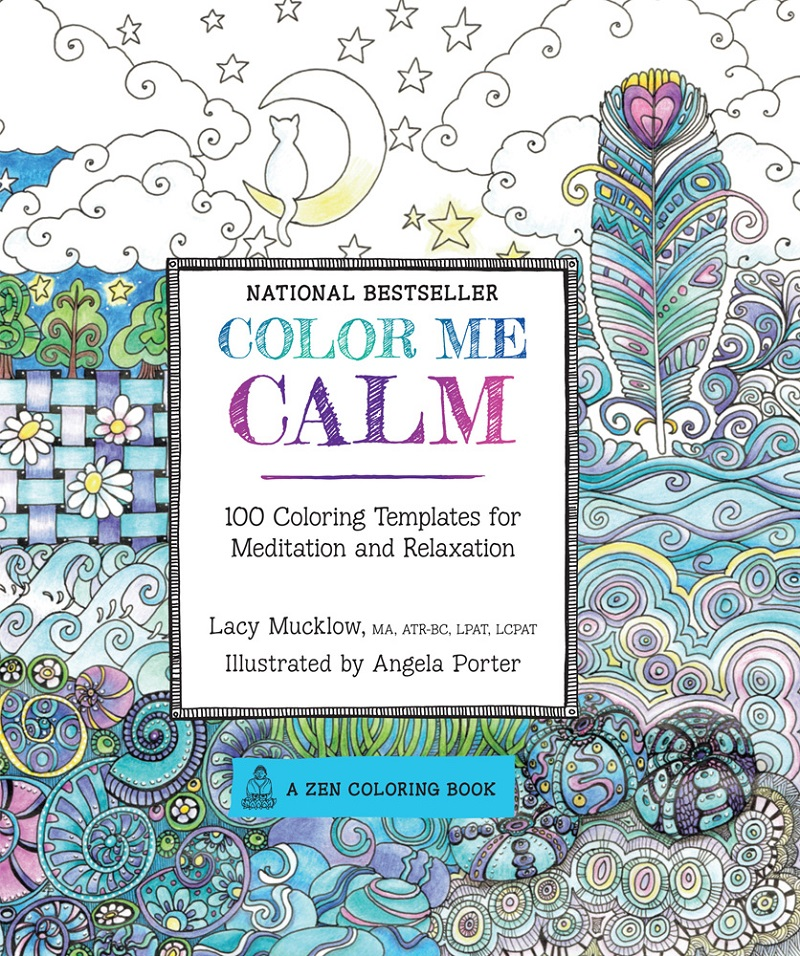 Color Me Coloring Book Calm