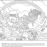 Coloring Book Sakuya Mermaid