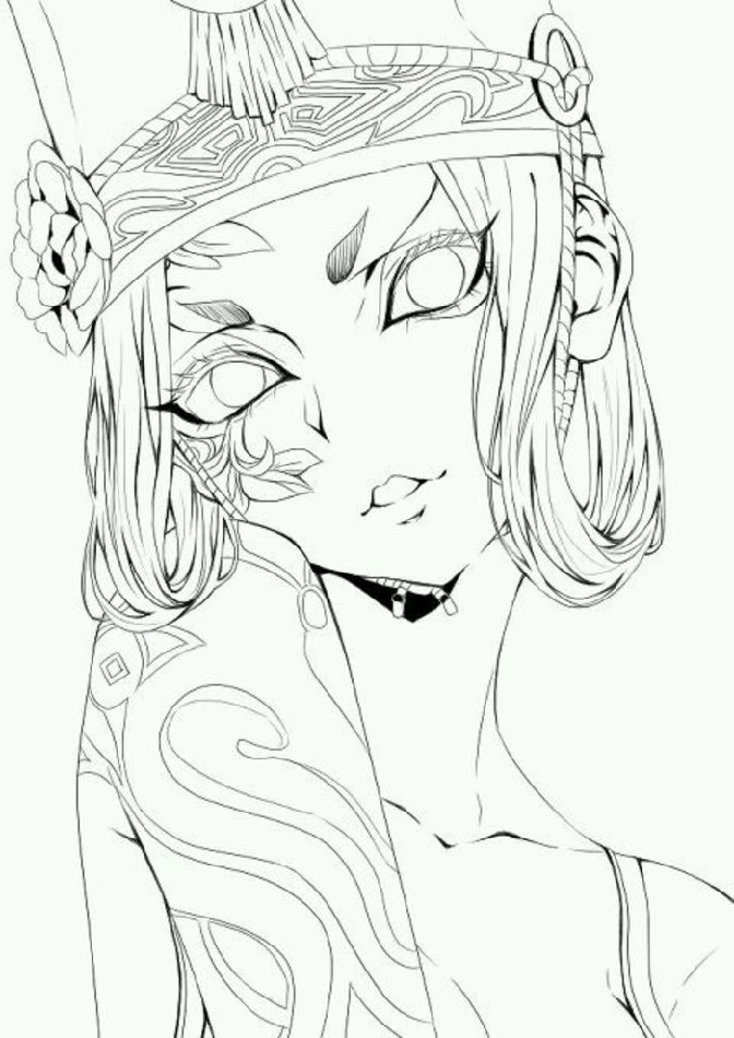 Coloring Book Sakuya To Print