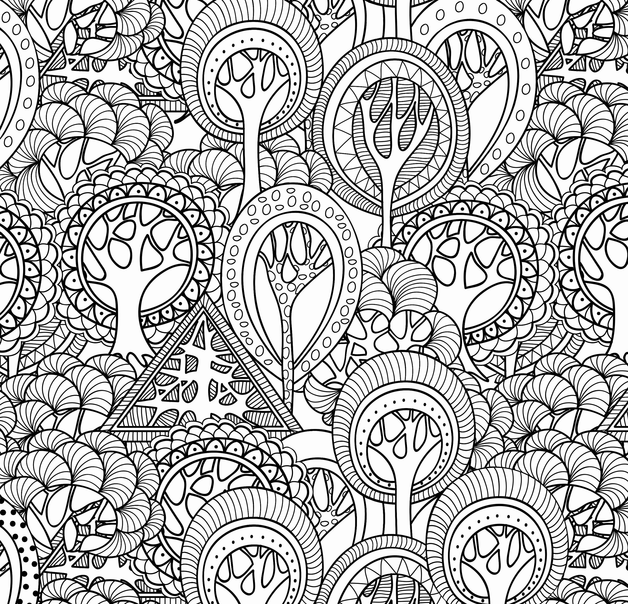 Coloring-Games-For-Adults-Pattern