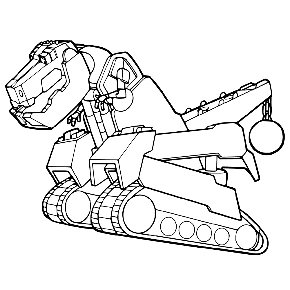Dinotrux Coloring Pages Ty