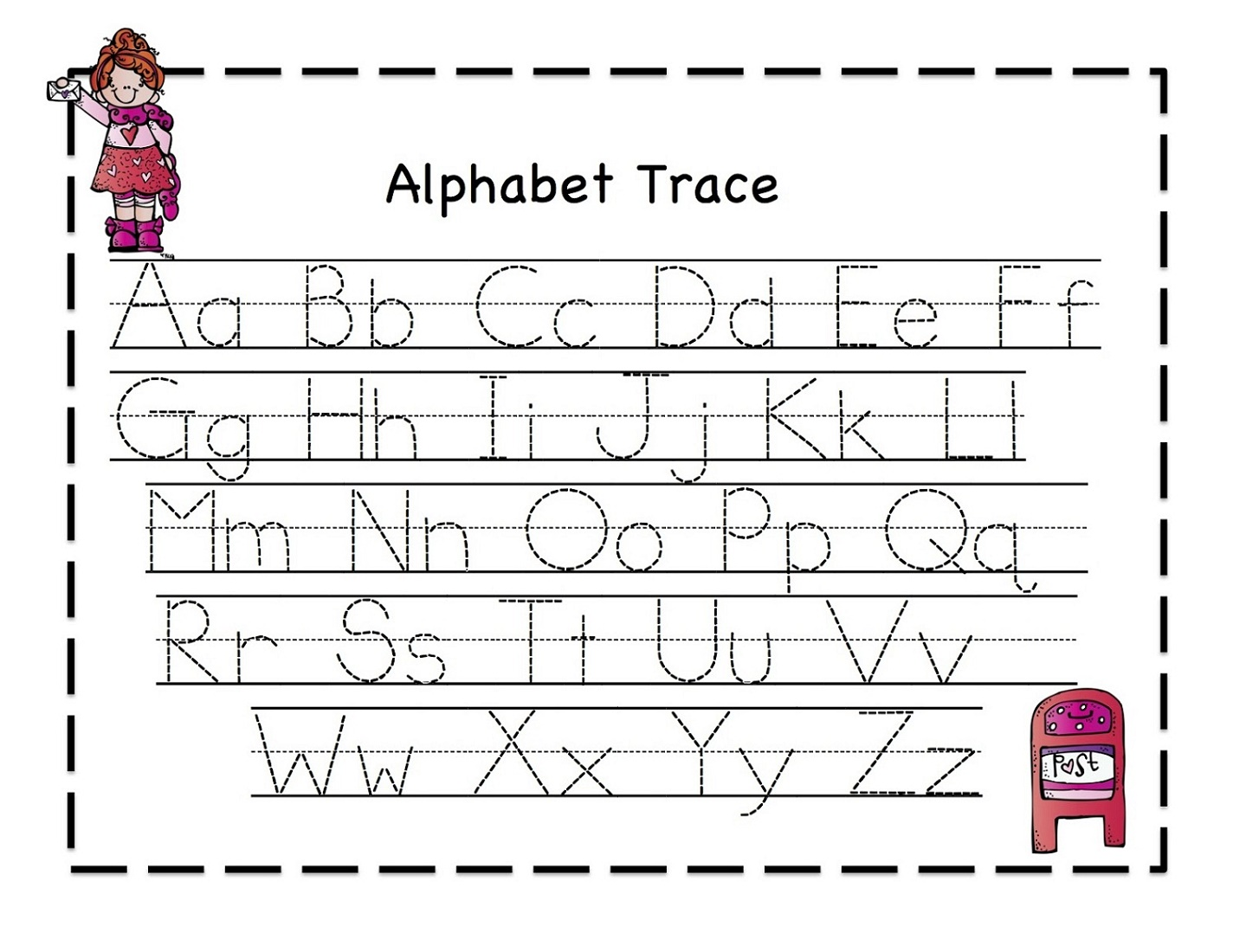 Education Worksheets Alphabet