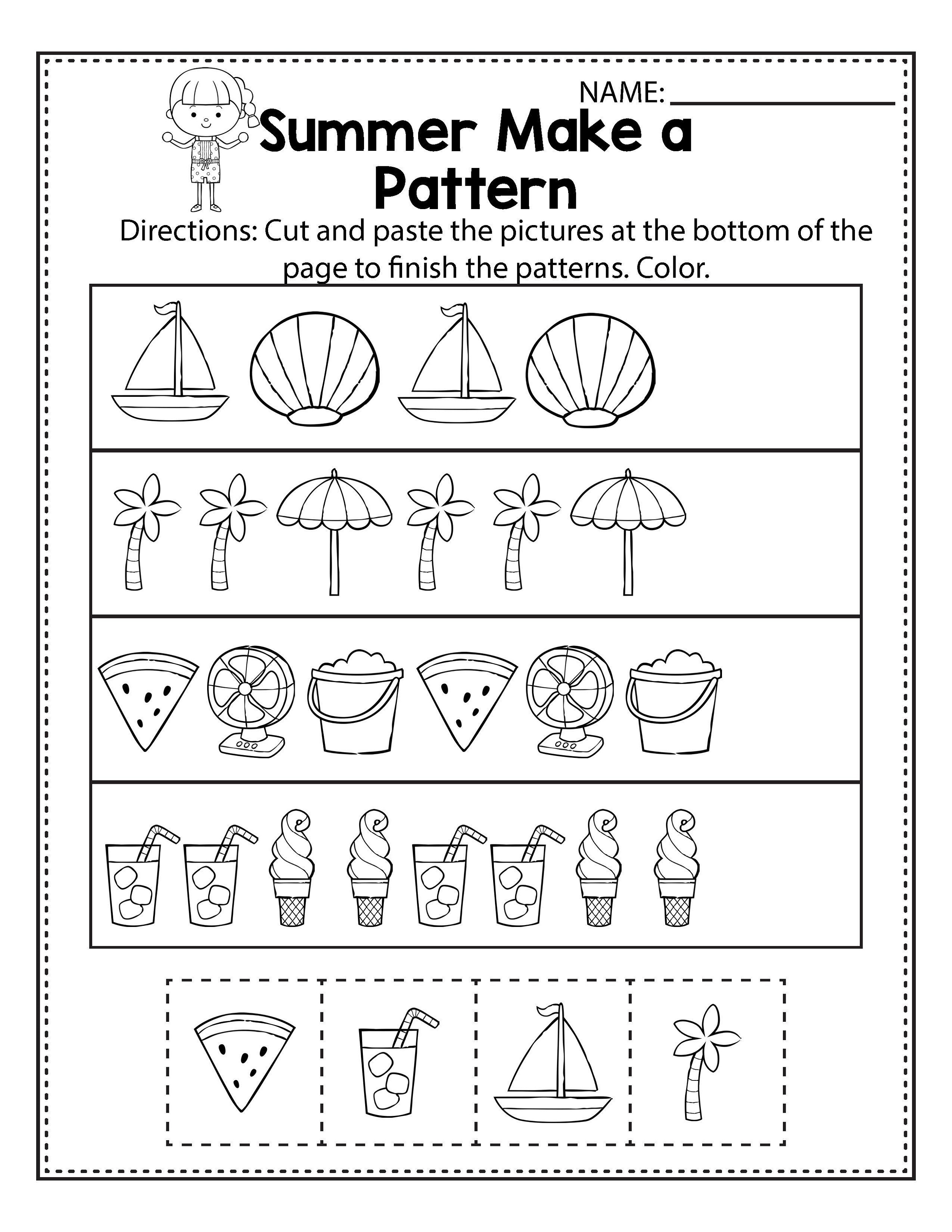 Elementary-Math-Worksheets-Pattern