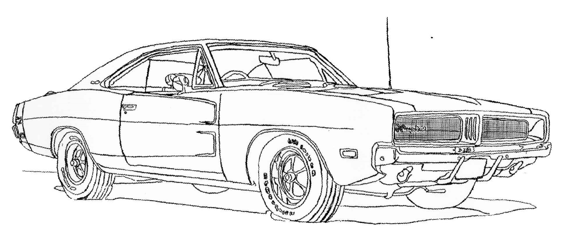 Fast And Furious Coloring Pages Camaro