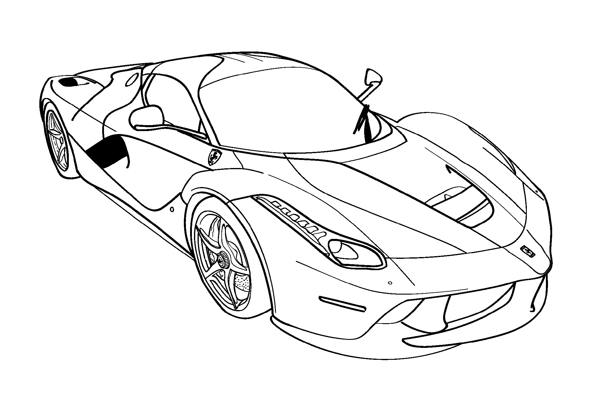 Fast-And-Furious-Coloring-Pages-Ferarri
