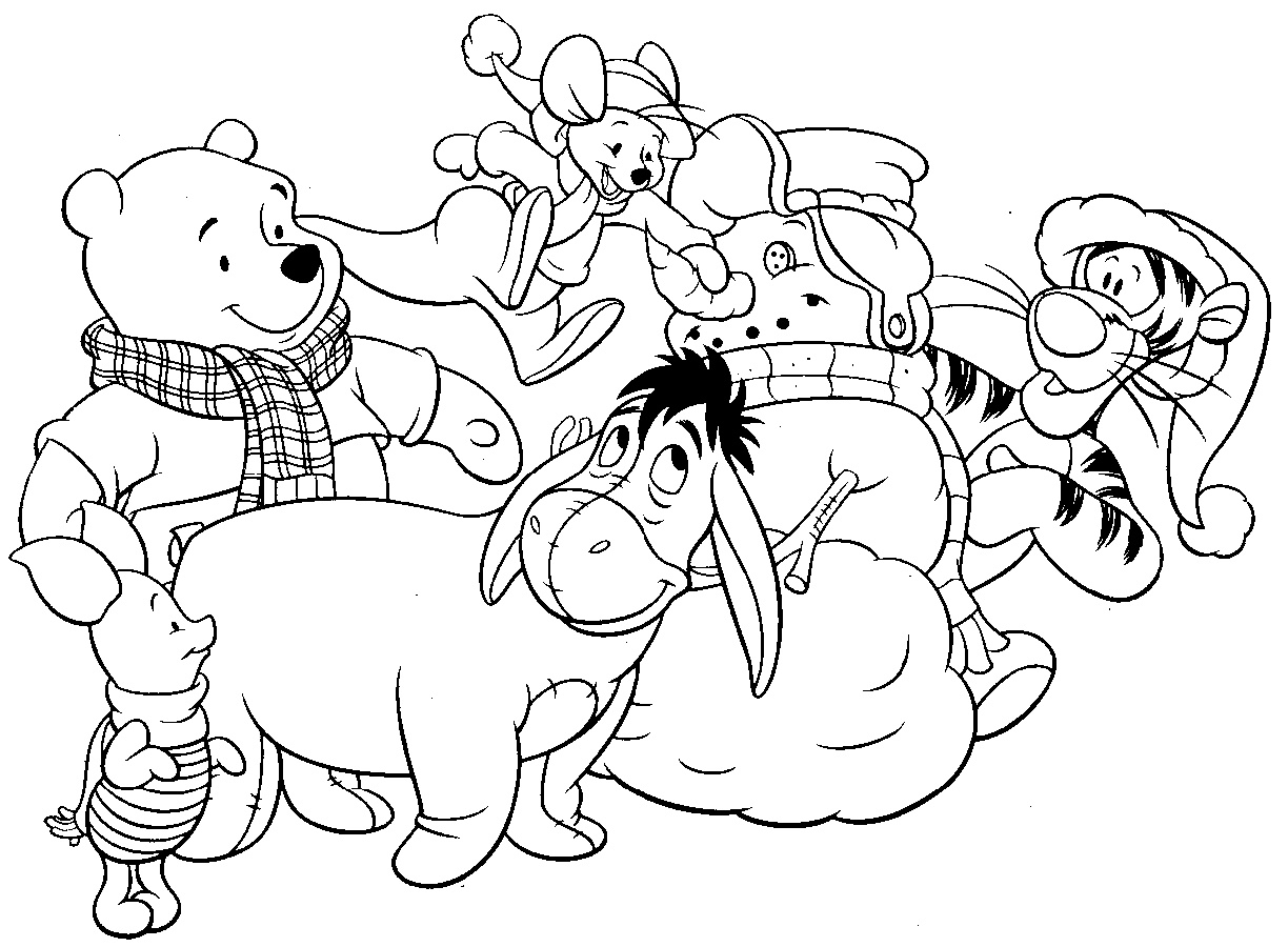 Free Disney Coloring Pages Winnie The Pooh