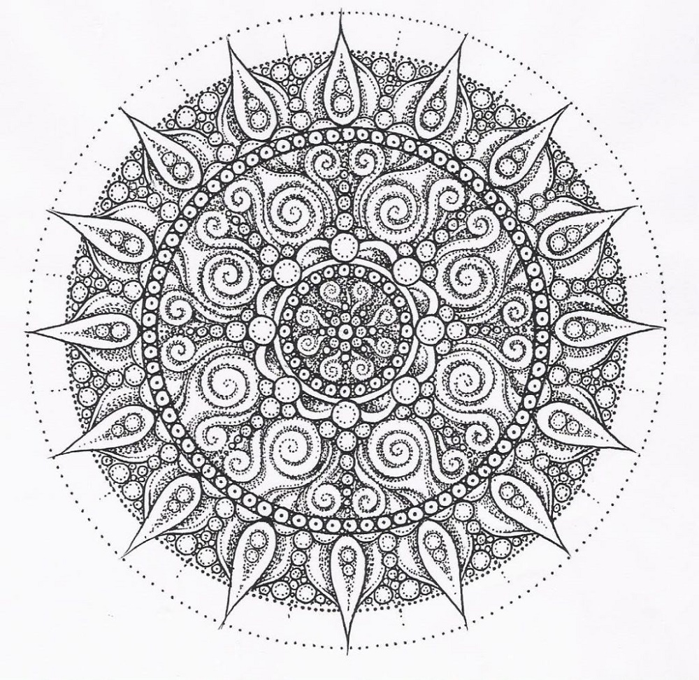 Free Mandala Coloring Pages Detailed