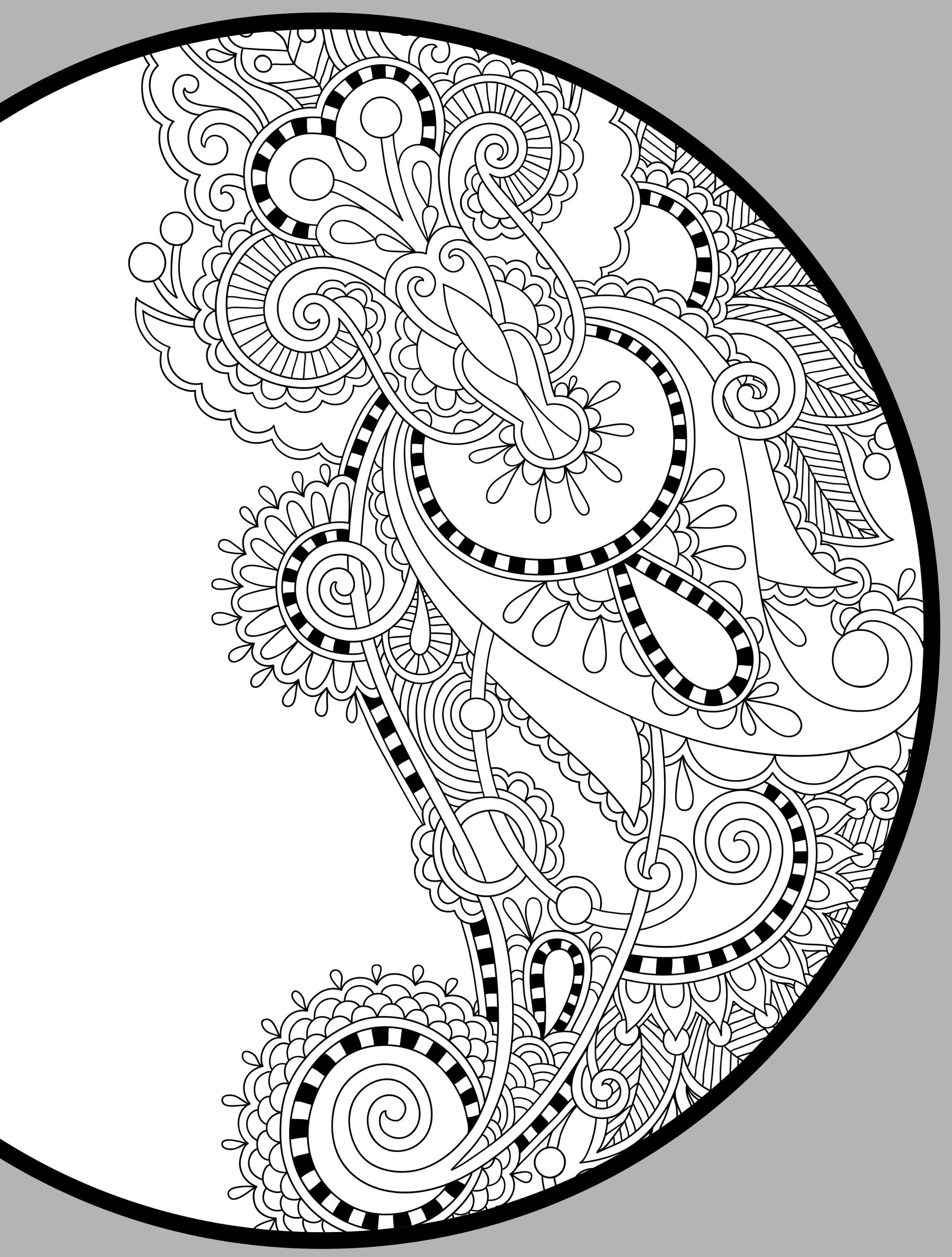 Free Mandala Coloring Pages To Print
