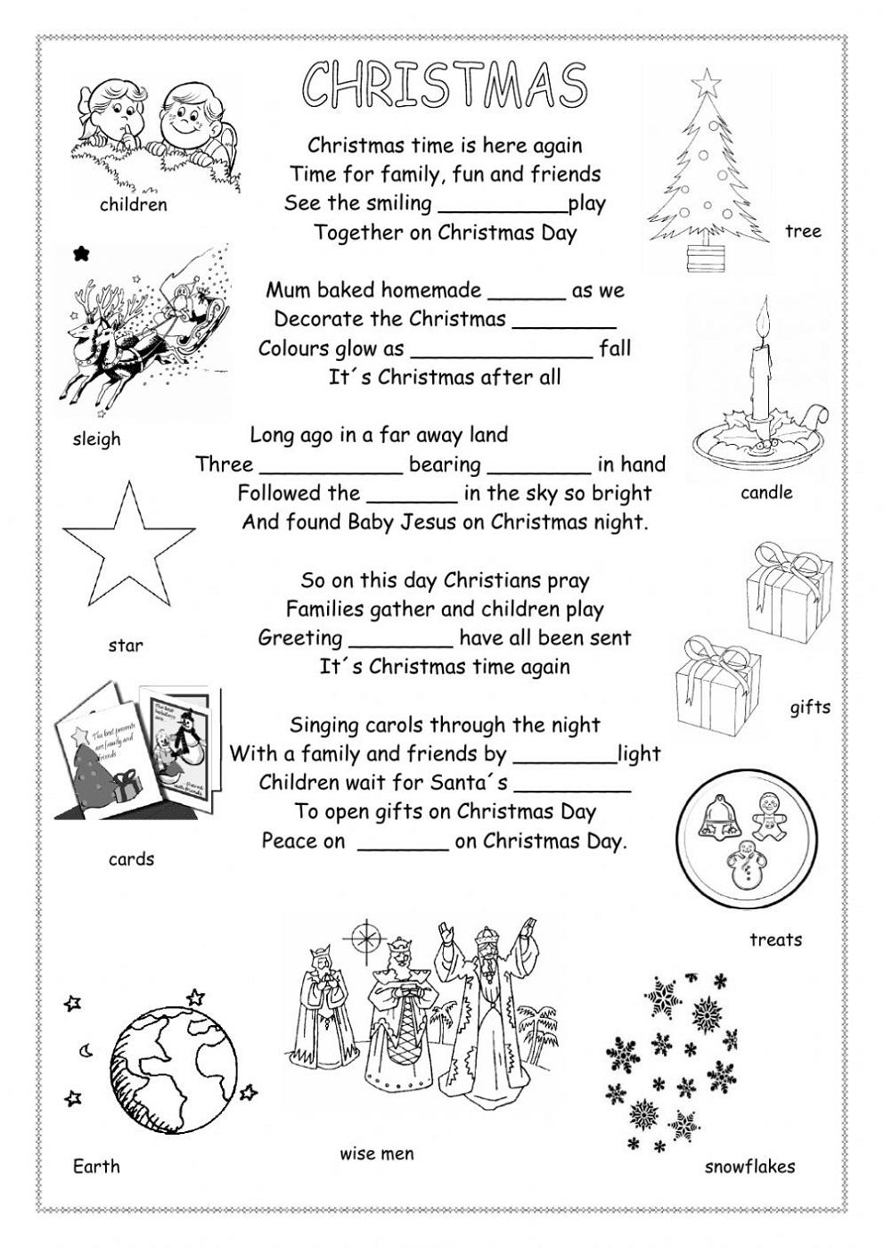 Free Primary Worksheets Esl
