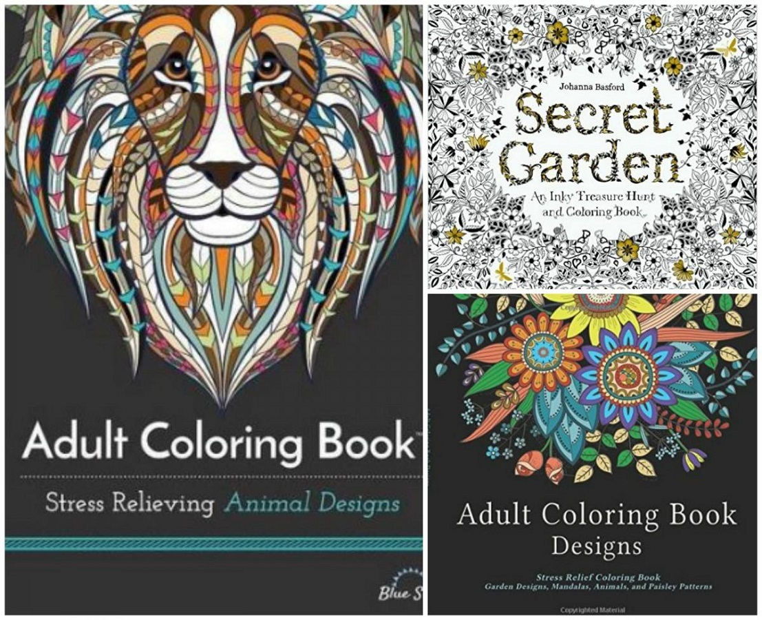 Best Adult Coloring Books Covers