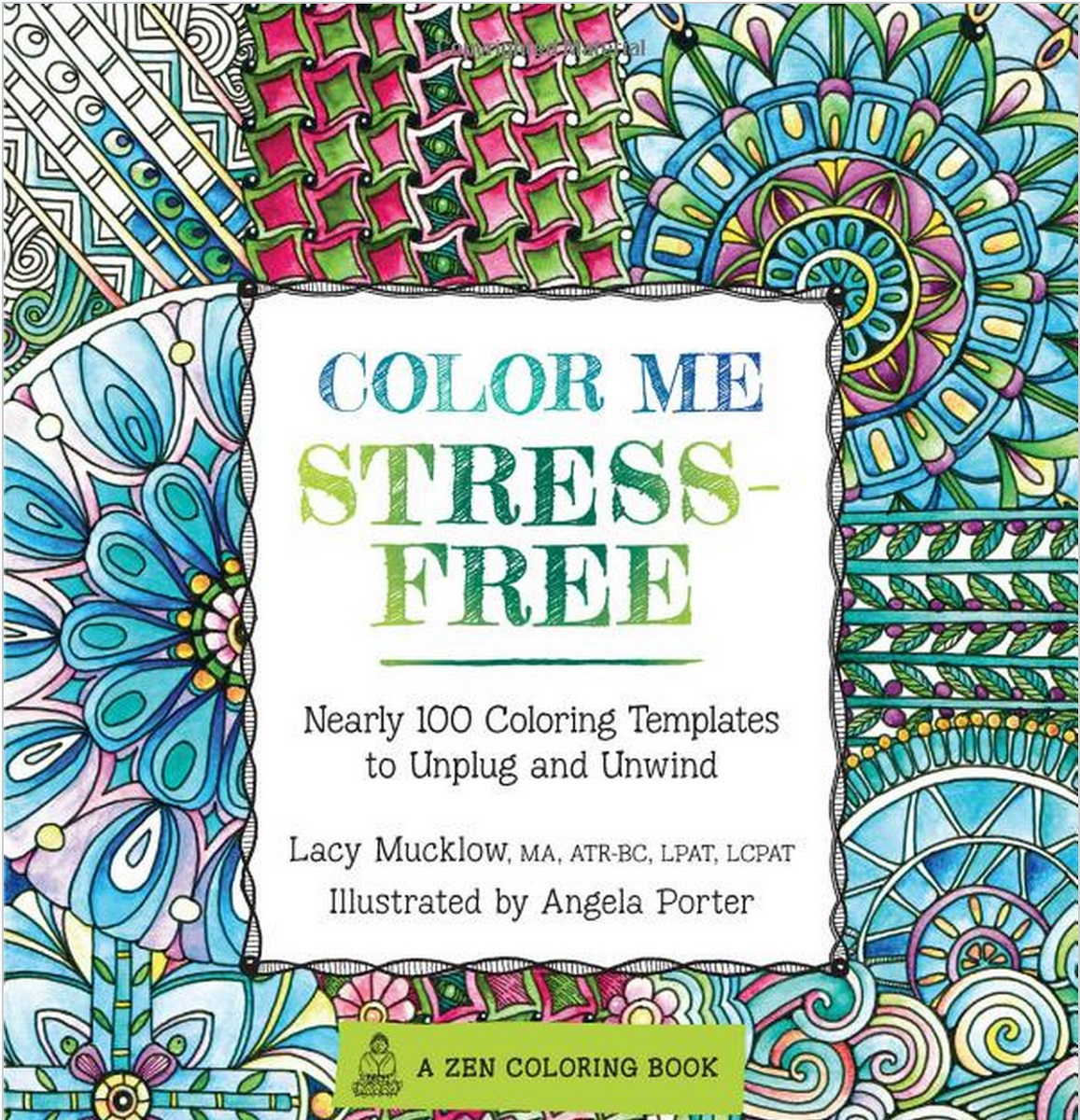 Best Adult Coloring Books Stress Free