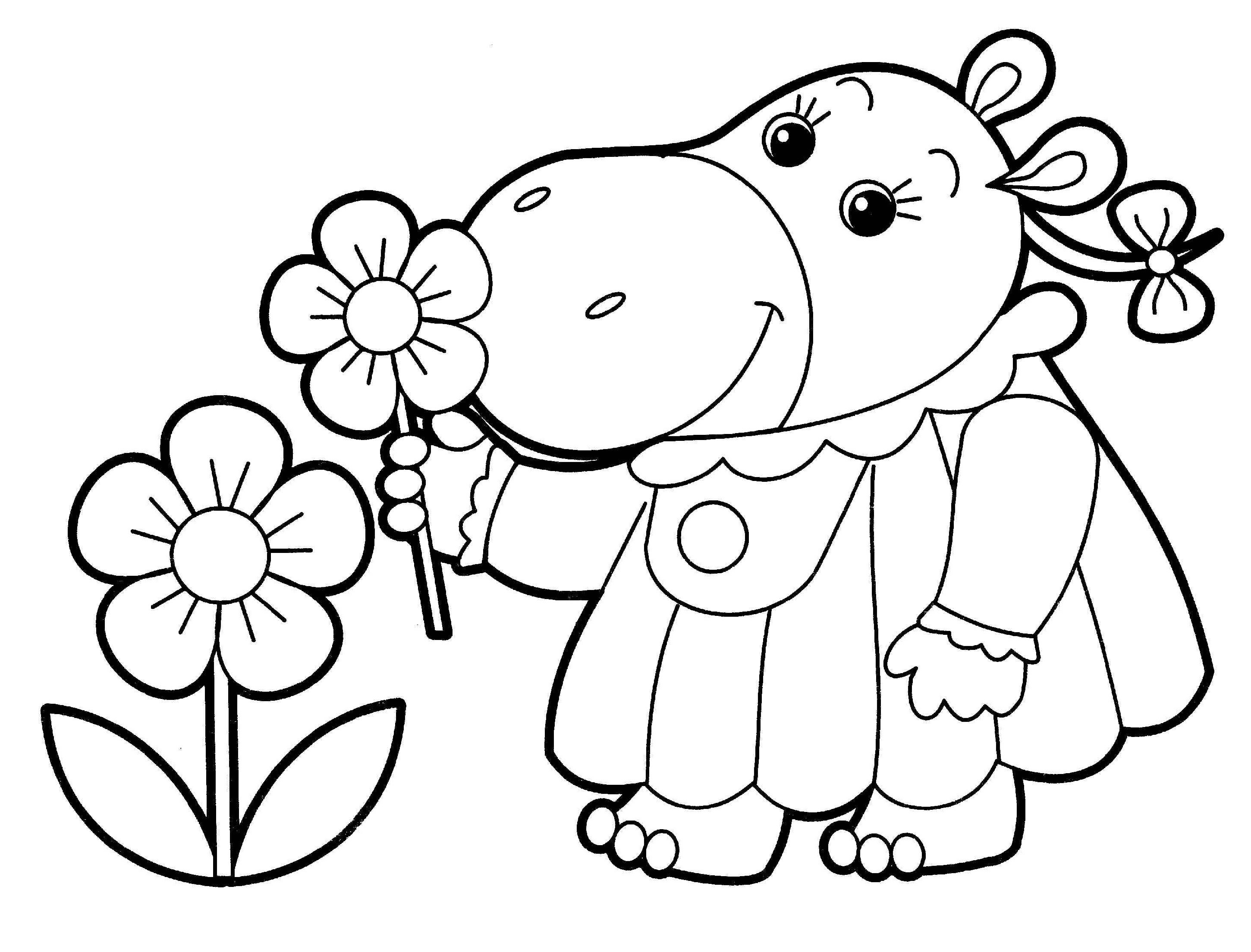 Coloring Book Download Cartoon