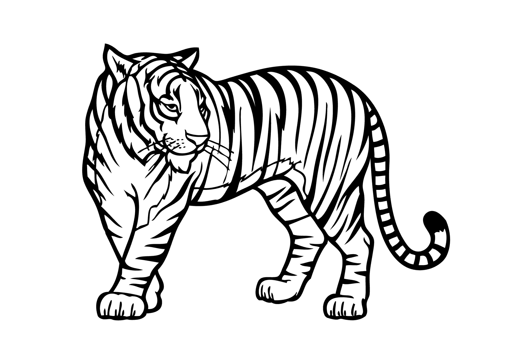 Coloring Pictures Of Animals Jungle