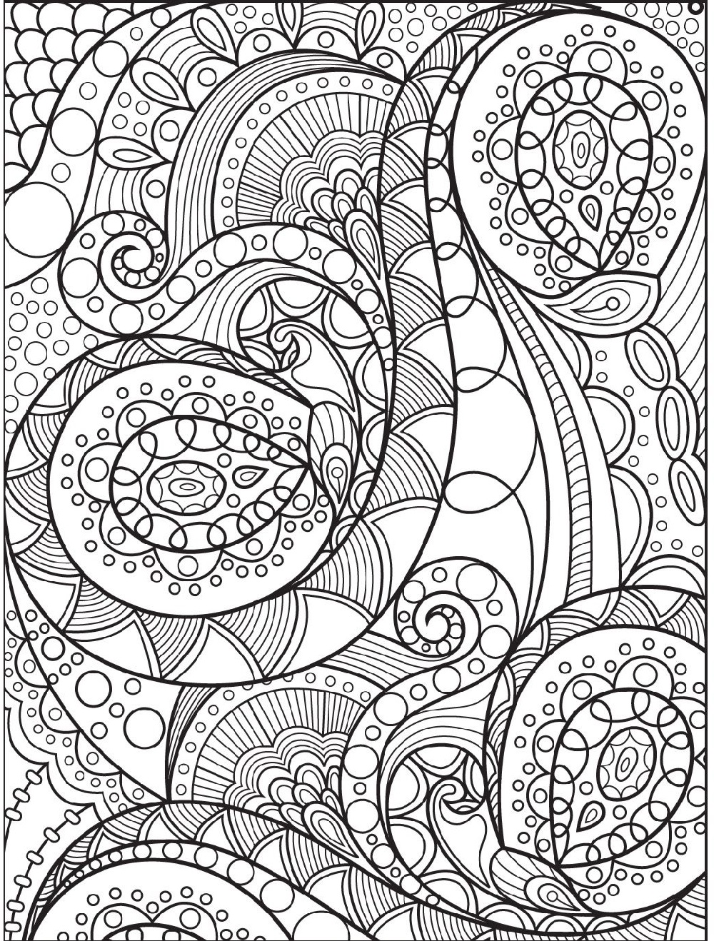Coloring Printables Abstract