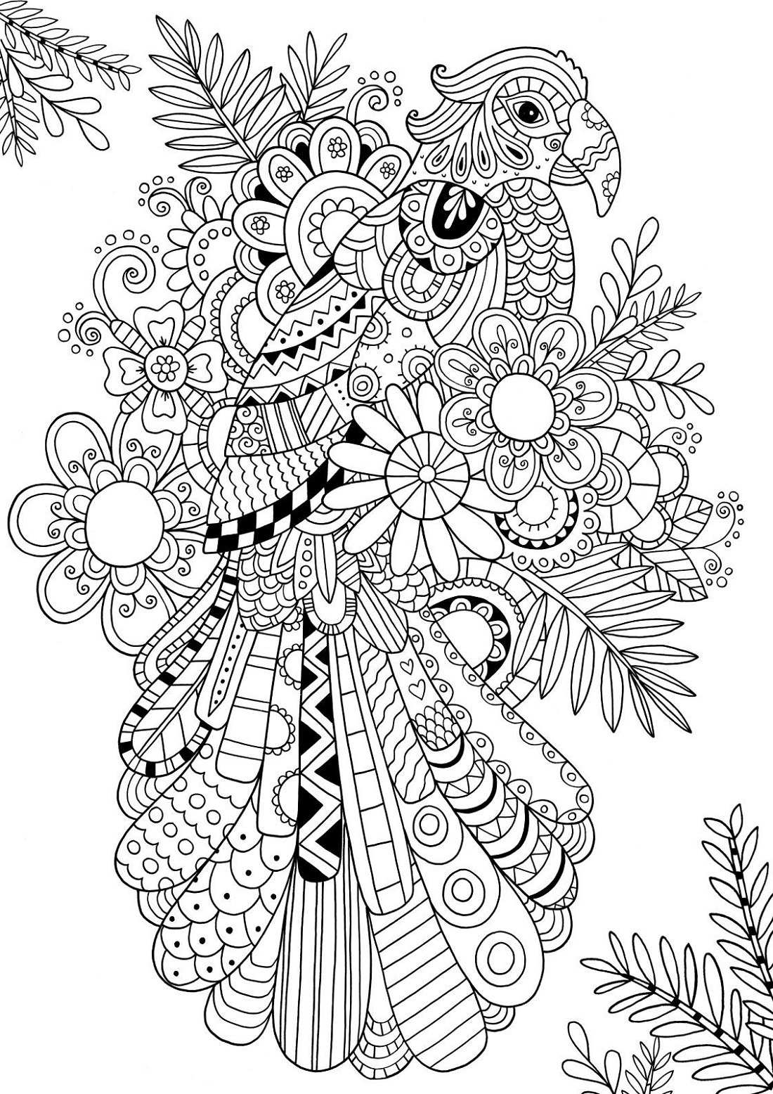 Coloring Printables Zentangle