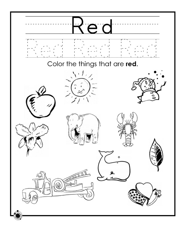 Coloring Worksheets Colors