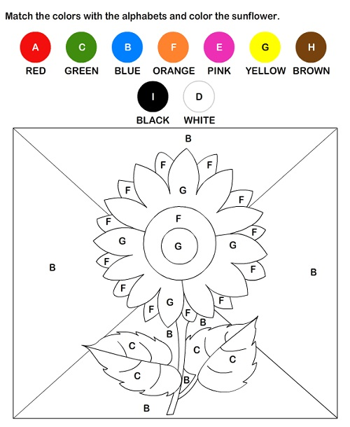 Coloring Worksheets For Kindergarten