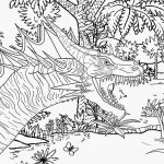 Complex Coloring Pages Dragon