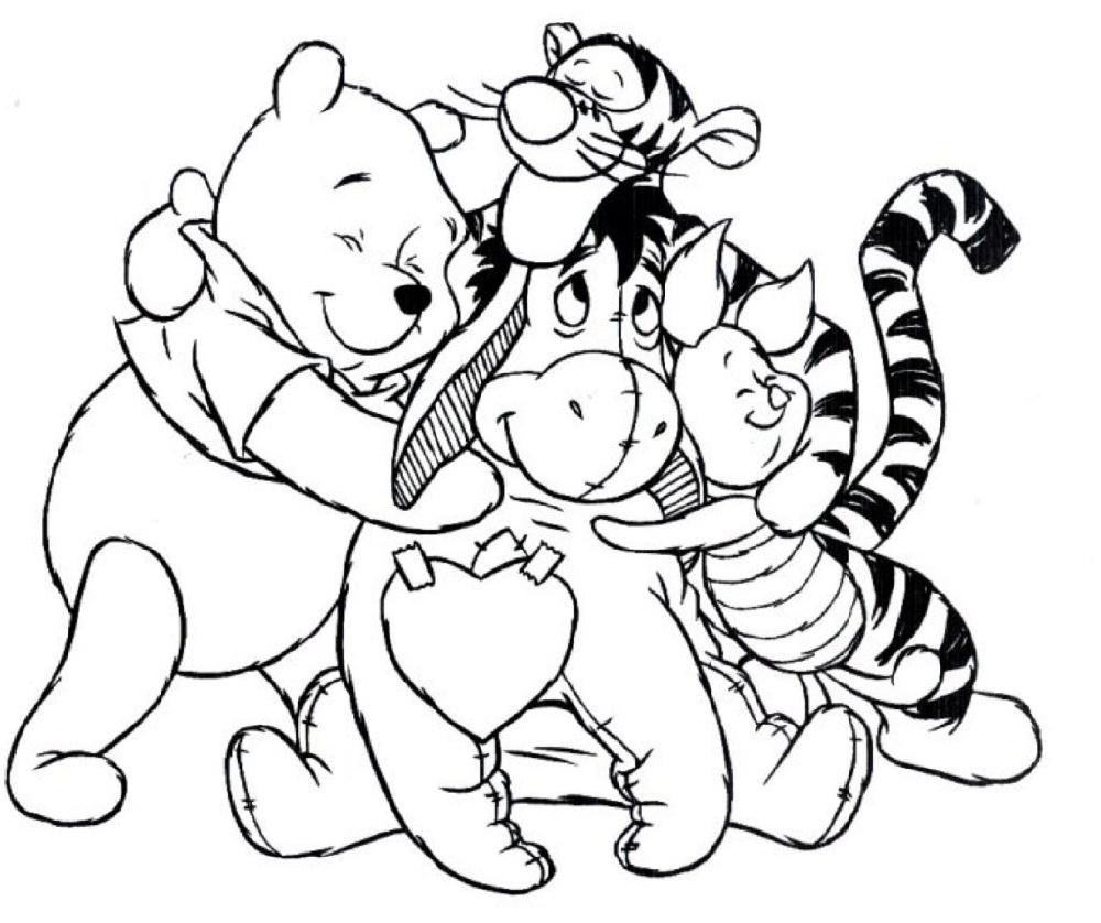 Disney Coloring Winnie The Pooh