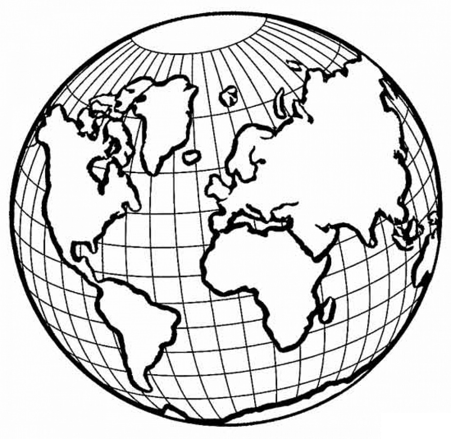 Earth Coloring Pages Pictures
